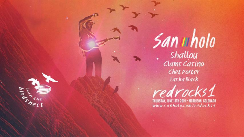 San Holo - Live @ redrocks1, Red Rocks Amphitheatre 2019