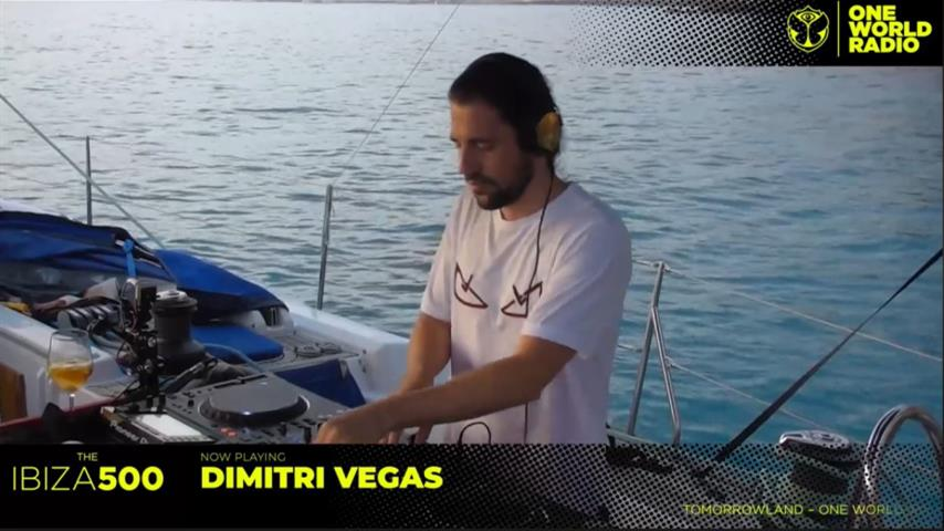Dimitri Vegas - Live @ Ibiza 500 Guest Mix, Tomorrowland One World Radio 2019