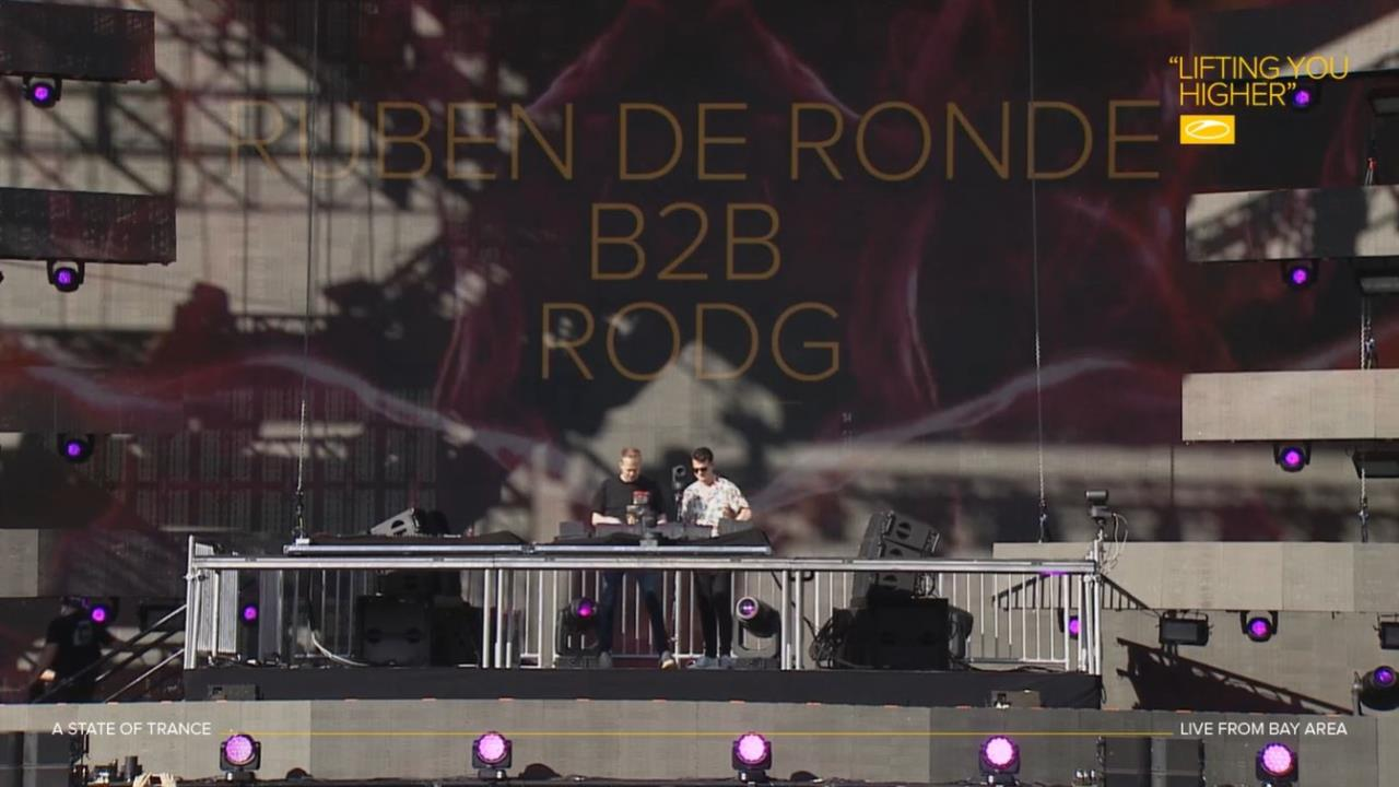 Ruben De Ronde & Rodg - Live @ ASOT 900, Oakland-Alameda County Coliseum Bay Area USA 2019 (29 06 2019