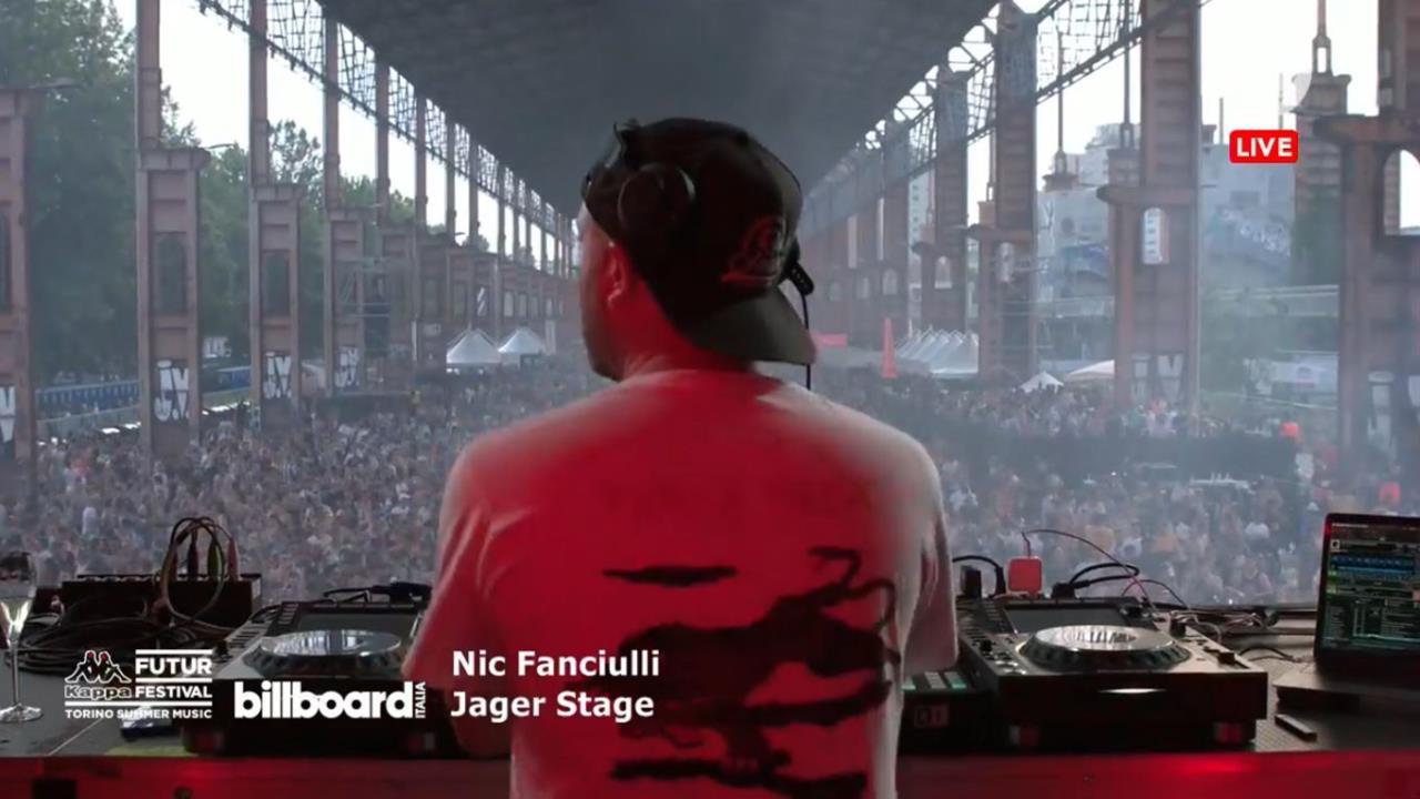 Nic Fanciull - Live @ Kappa FuturFestival 201
