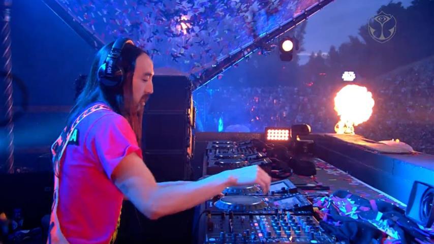 Steve Aoki - Live @ Tomorrowland Belgium 2019 Mainstage