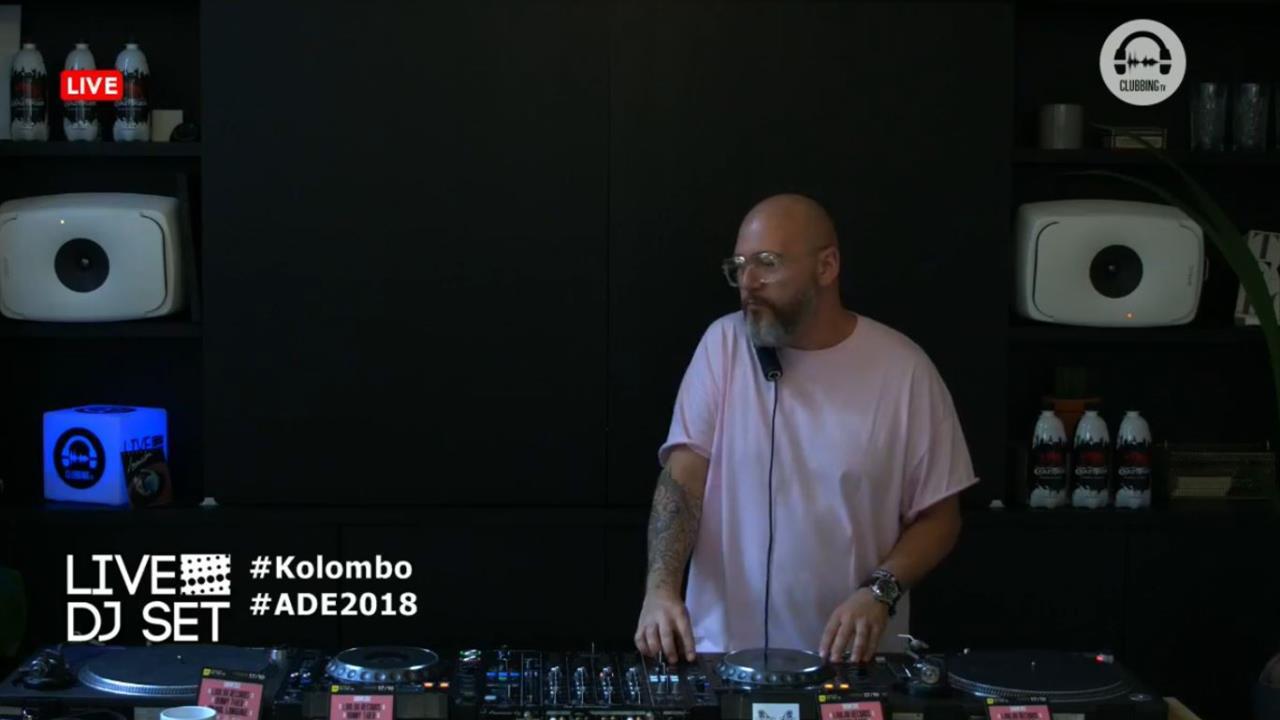 Kolombo - Live @ 10 Years of Clubbing TV x Amsterdam Dance Event 2018