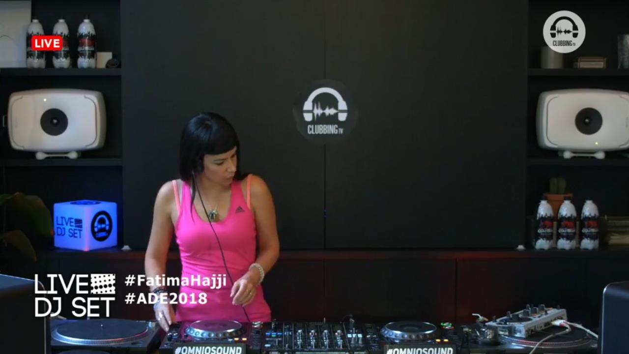 Fatima Hajji - Live @ 10 Years of Clubbing TV x Amsterdam Dance Event 2019