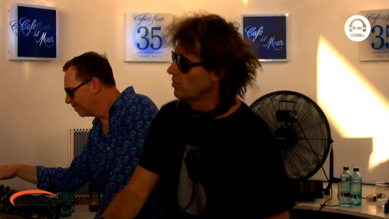 Nick Warren b2b Hernan Cattaneo - Live @ DJ Awards x Cafe del Mar Ibiza 2019