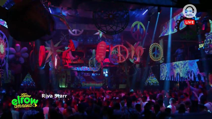 Riva Starr - Live @ Elrow Amnesia 27th July 2019
