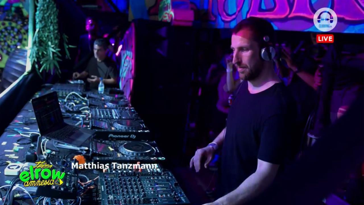 Matthias Tanzmann - Live @ Elrow Amnesia 27th July 2019