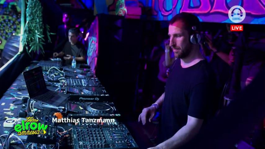 Matthias Tanzmann - Live @ Elrow Amnesia 27th July 2019