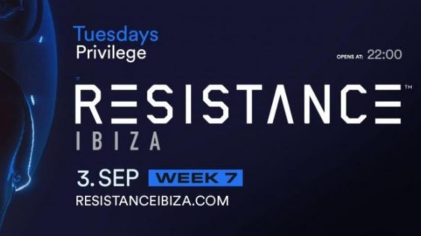 Carl Cox - Live @ Resistance Ibiza, Main Room Week 7, Privilege Ibiza 2019