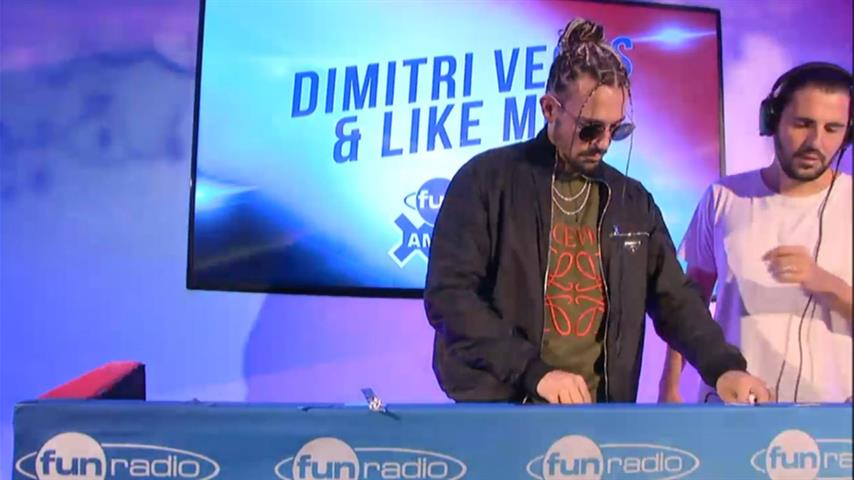 Dimitri Vegas & Like Mike - Live @ Fun Radio x ADE 2019