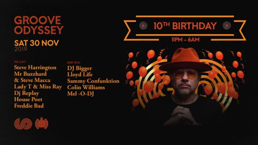 Louie Vega - Live @ Groove Odyssey 10th Birthday Ministry of Sound 2019