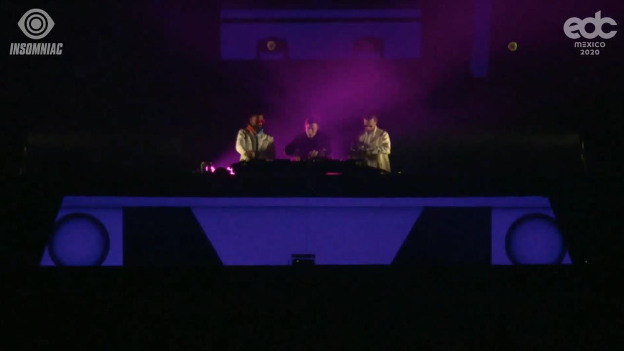 Headhunterz b2b Yellow Claw - Live @ EDC Mexico 2020