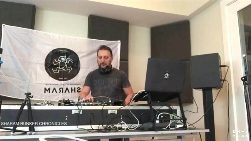 Sharam - Live @ Bunker Chronicles Episode 1 2020
