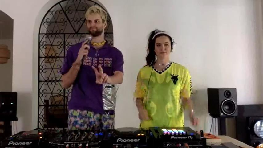 Sofi Tukker - Live @ Home [02.04.2020]