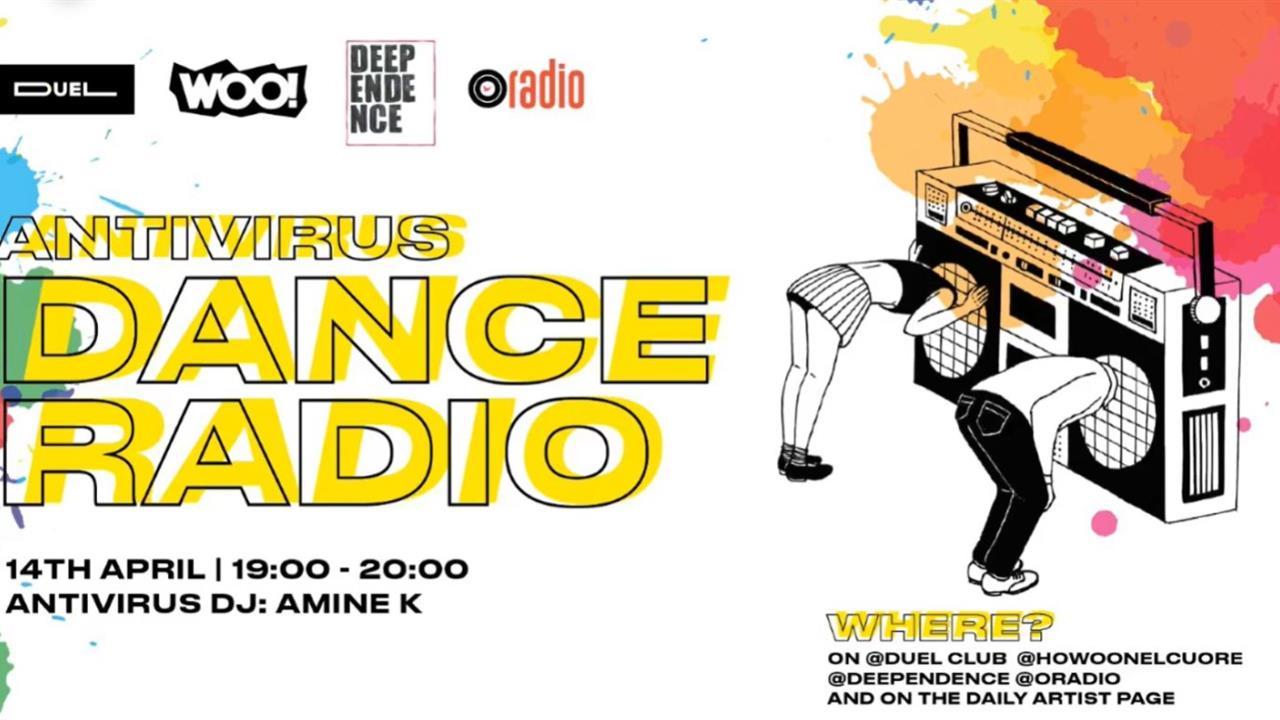 Amine K - Live @ Antivirus Dance Radio#26 2020