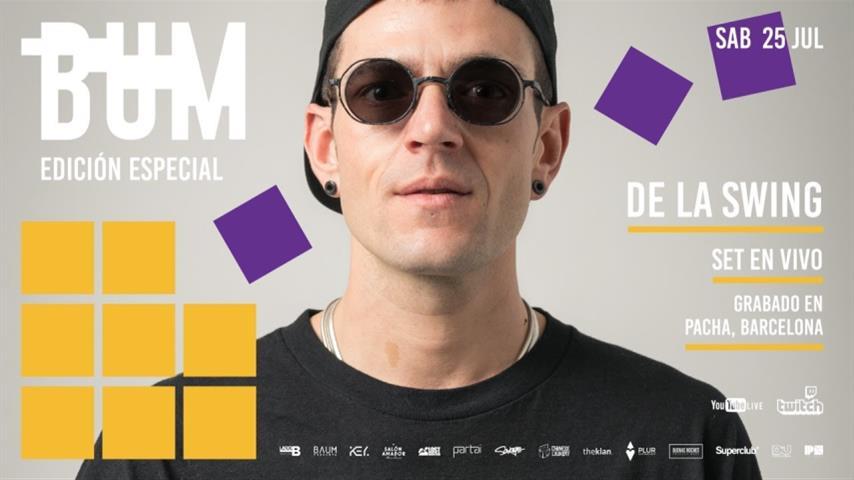 De La Swing - Live @ Desde Pacha Barcelona 2020