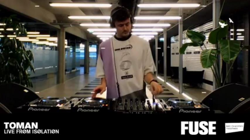Toman - Live @ FUSE Live From Isolation 2020
