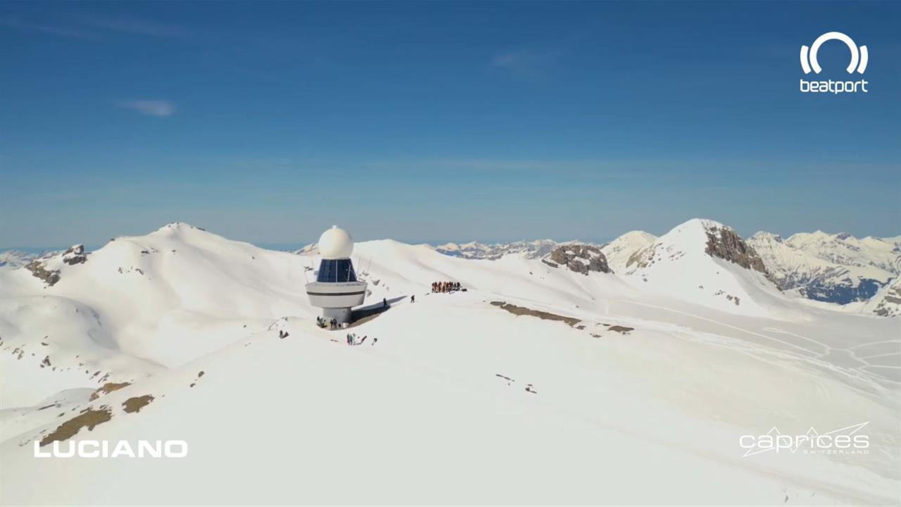 Luciano - Live @ Caprices Festival x Plaine Morte, Swiss Alps 2021