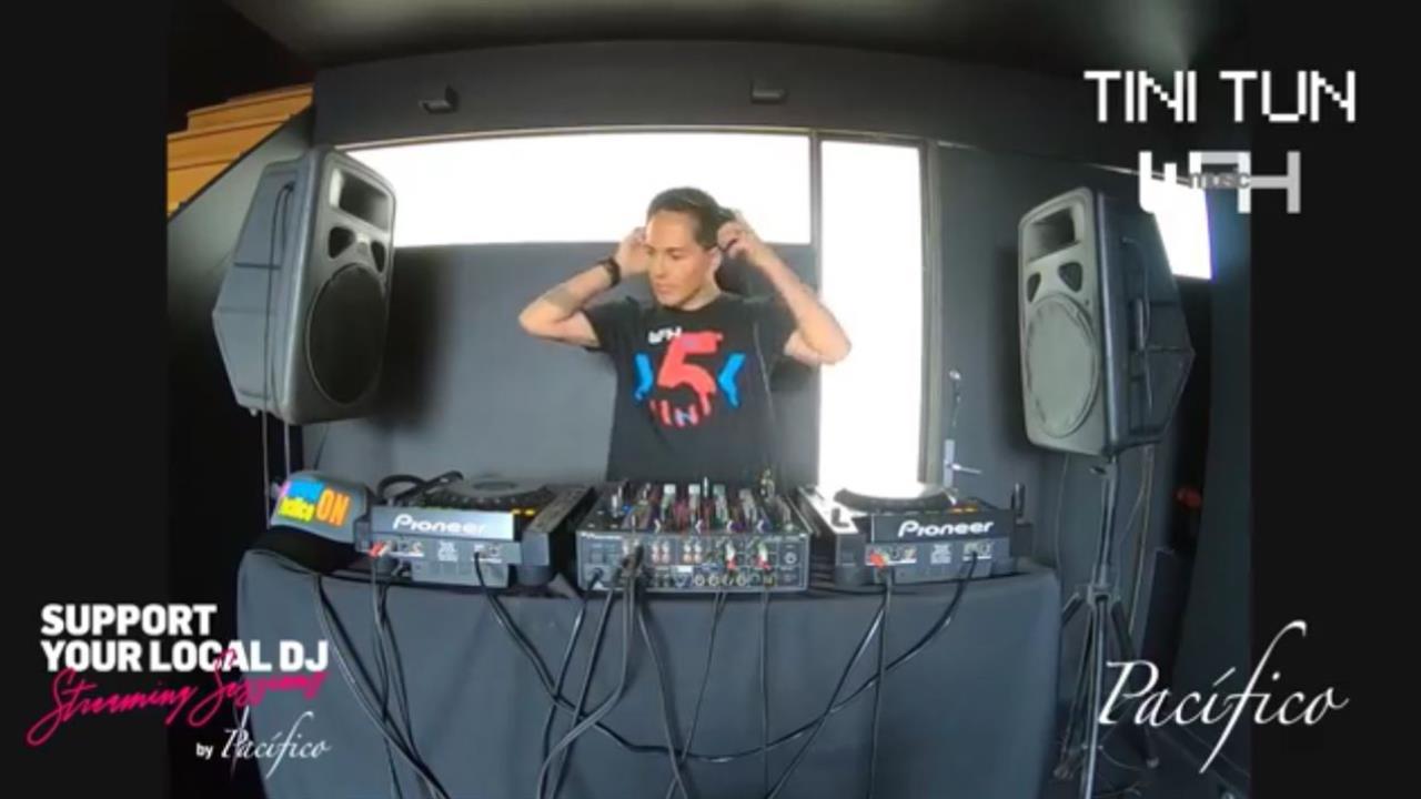 Tini Tun - Live @ Support You Local DJ Livestream 2020