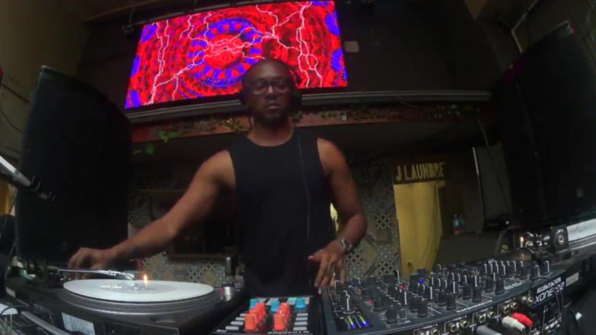 Stacey Pullen - Live @ Darkbeat pres Balance 28 CD Launch Party, Railway Hotel, Brunswick Australia 2016