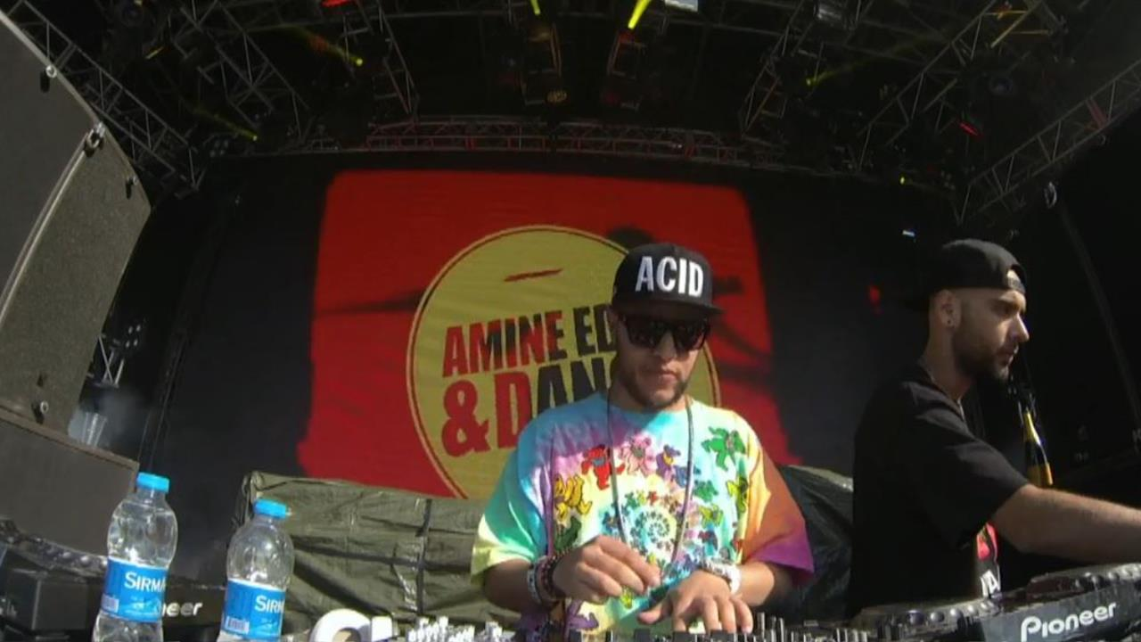 Amine Edge & DANCE - Live @ We Are FSTVL 2014, Eat Sleep Rave Repeat, Airfield of Dreams
