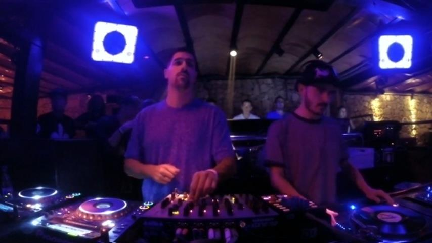 Cuartero b2b Hector Couto - Live @ Amnesia Closing Party 2014