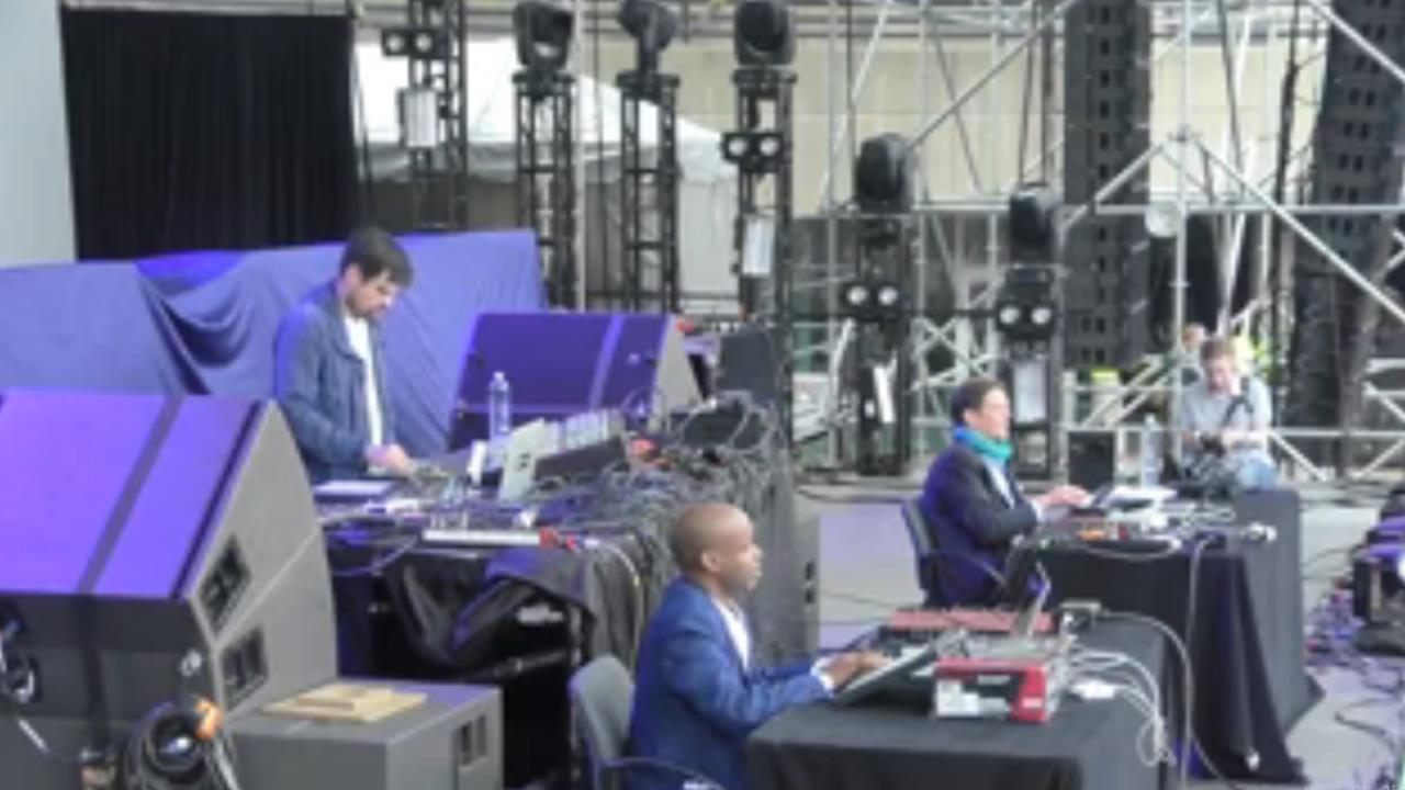 Juan Atkins and Moritz Von Oswald Present Borderland - Live @ Movement Electronic Music Festival 2016, Main Stage, Hart Plaza