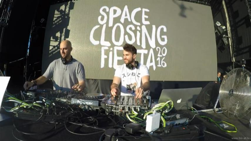 Uner b2b Coyu - Live @ Space Closing Fiesta 2016 UMF Stage