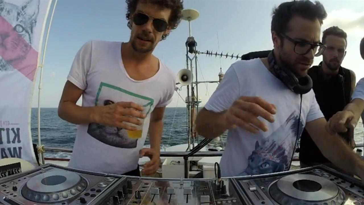 Coyu b2b Tube & Berger - Live @ Suara: Kitties Wanna Dance Boat Party 2, Ibiza Sea Party 2014