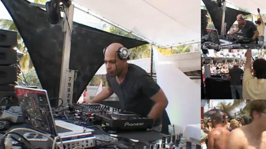 Dennis Ferrer - Live @ DJ Mag Pool Party x WMC 2010