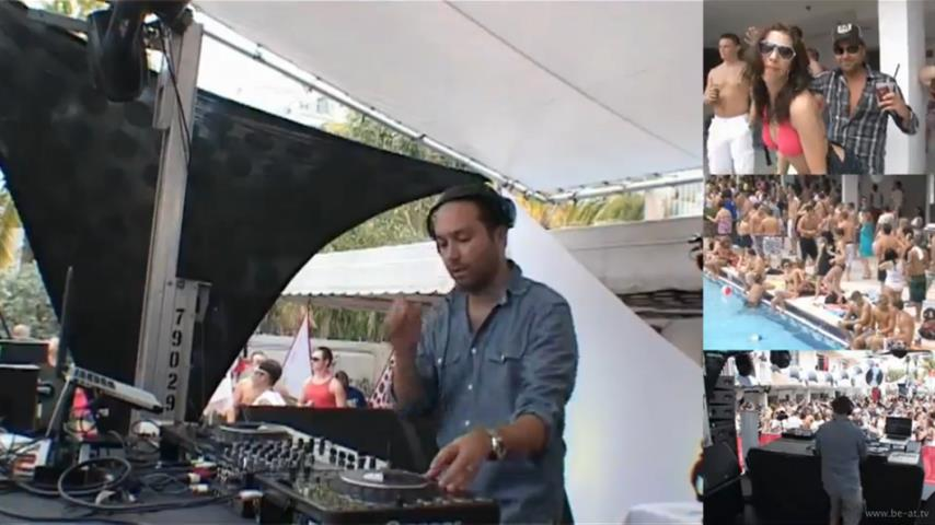 Nic Fanciulli - Live @ DJ Mag Pool Party x WMC 2010