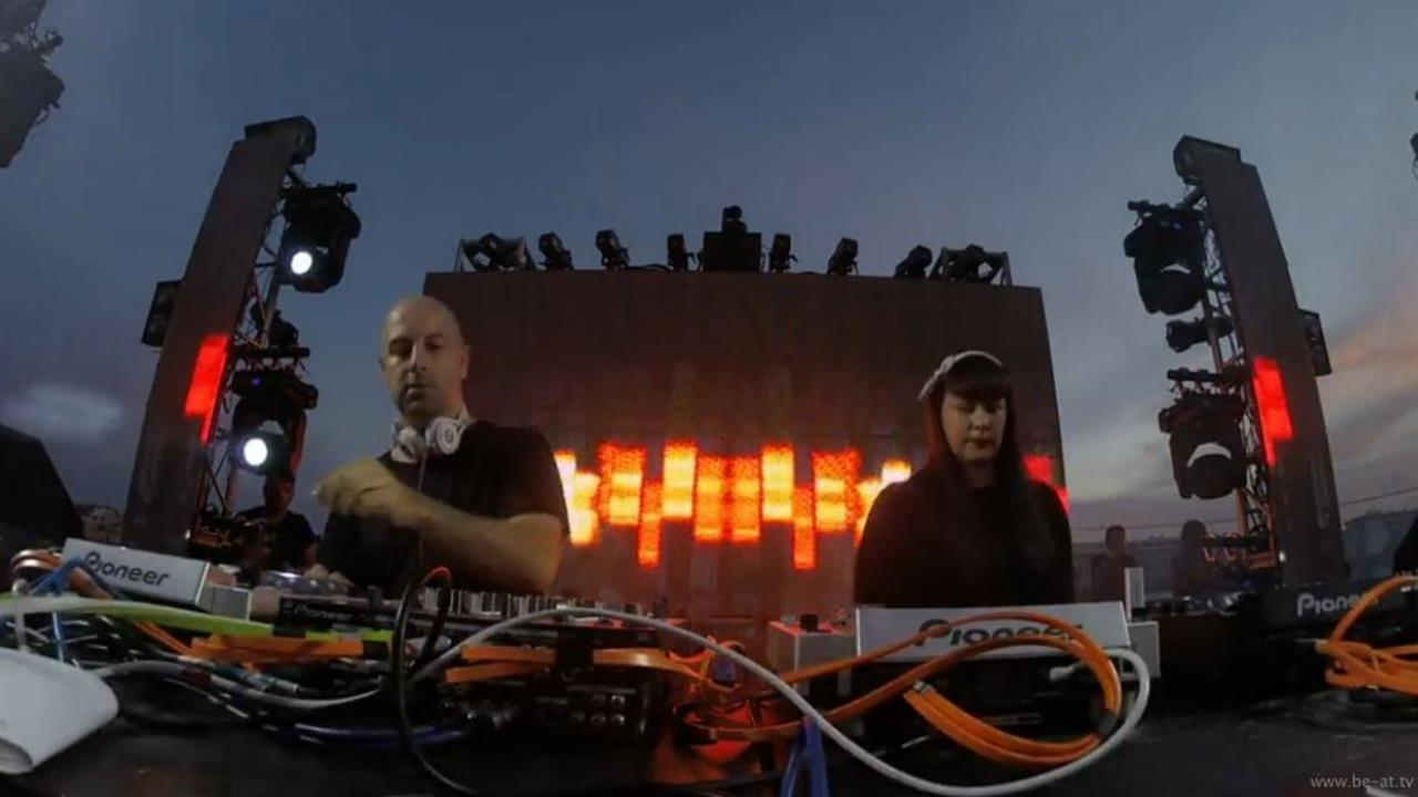 Miss Kittin b2b Oxia - Live @ Talamanca For All 2015
