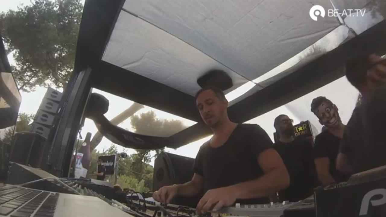 Christian Burkhardt - Live @ Cocoon Showcase Open Air 2014
