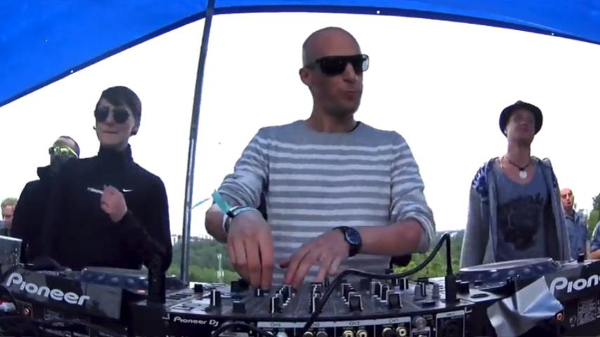 Boris Brejcha b2b Ann Clue - Live @ Smiling Sun Open Air 2017 Part 1
