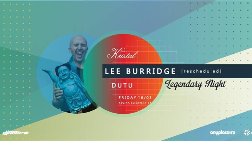 Lee Burridge - Live @ Kristal Club 2018