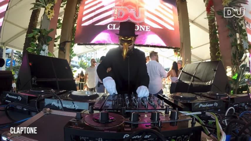 Claptone - Live @ DJ Mag Pool Party Miami 2018