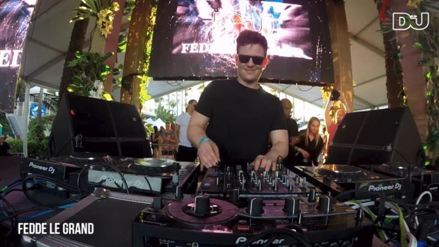 Fedde Le Grand - Live @ DJ Mag Pool Party Miami 2018