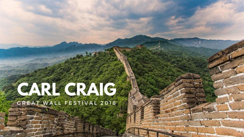 Carl Craig - Live @ Great Wall Festival 2018