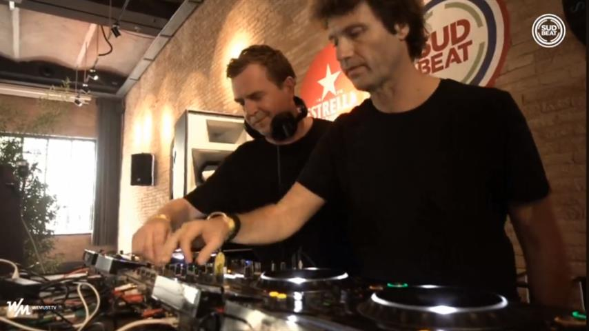 Hernan Cattaneo b2b Nick Warren - Live @ Sudbeat & The Soundgarden x Antiga Fàbrica Estrella Damm 2018