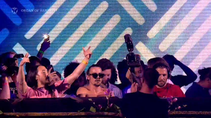 3 Are Legend (Dimitri Vegas & Like Mike & Steve Aoki) @ Tomorrowland Belgium 2018 W2 Smash The House Stage