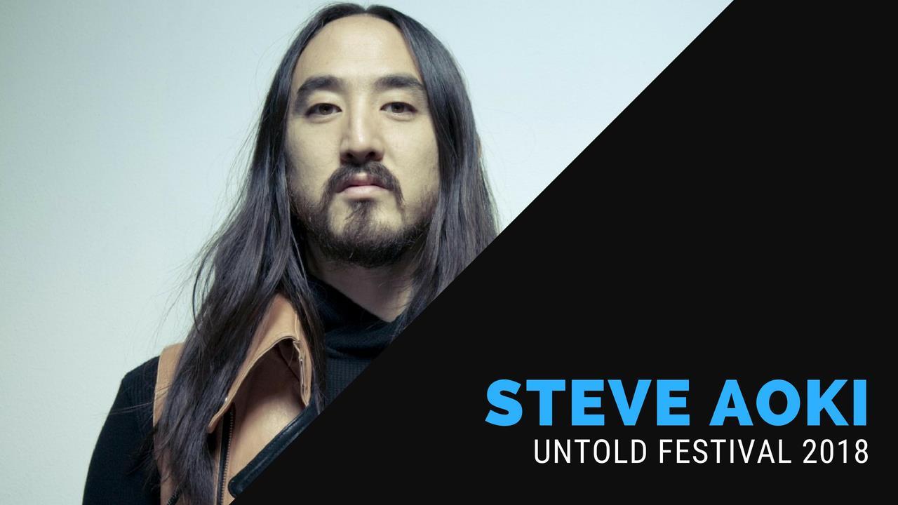 Steve Aoki - Live @ Untold Festival 2018