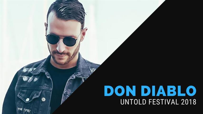 Don Diablo - Live @ Untold Festival 2018