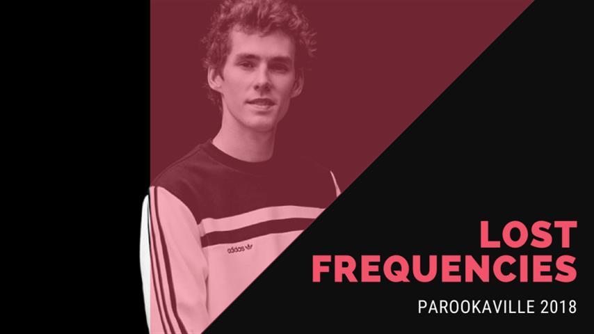 Lost Frequencies - Live @ ParookaVille 2018