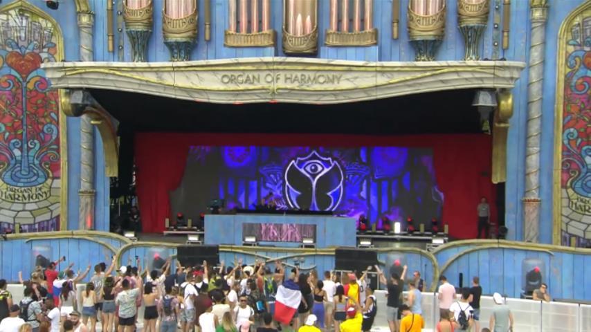 Ekali - Live @ Tomorrowland Belgium 2018 Organ Of Harmony Stage