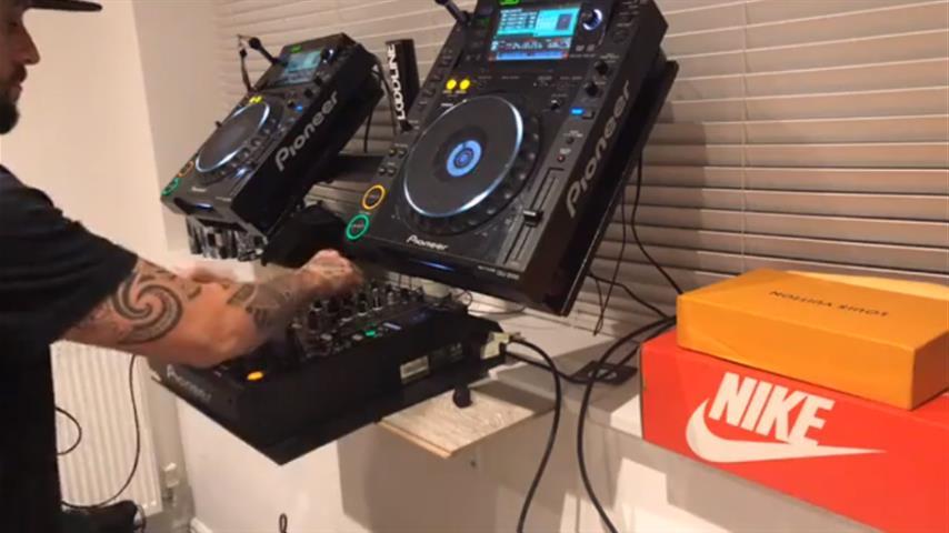 DJ Hatcha - Live @ Home Studio 2018