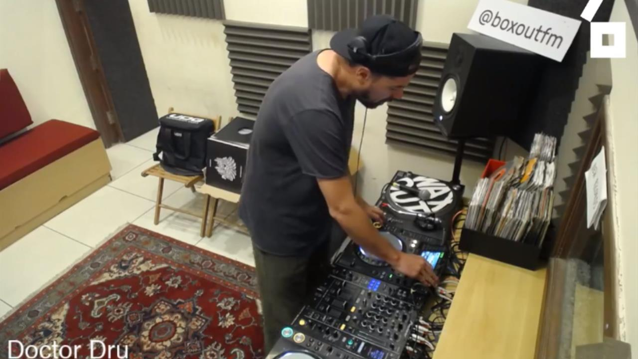 Doctor Dru - Live @ boxout.fm HQ 2018