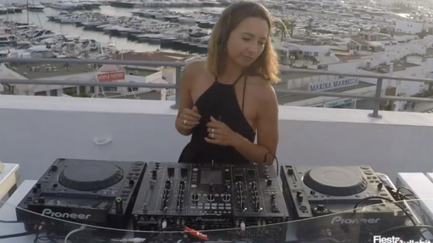 Adeline - Live @ Hola Sunset! Fiesta & Bullshit Ibiza 2018