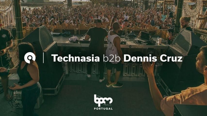 Technasia b2b Dennis Cruz - Live @ The BPM Festival: Portugal 2018