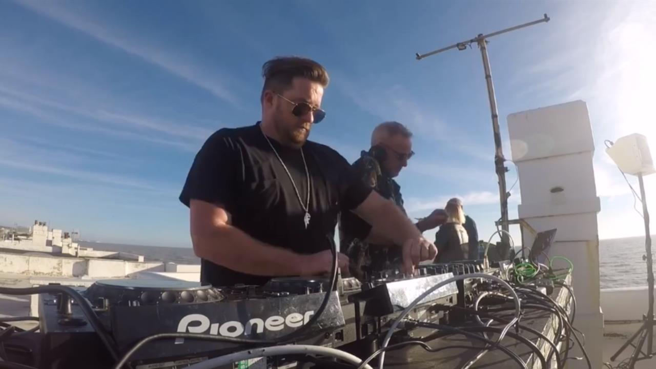 Fatboy Slim b2b Eats Everything - Live @ Brighton Rooftop Party 2018