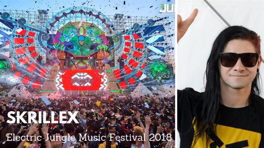 Skrillex - Live @ Electric Jungle Music Festival 2018