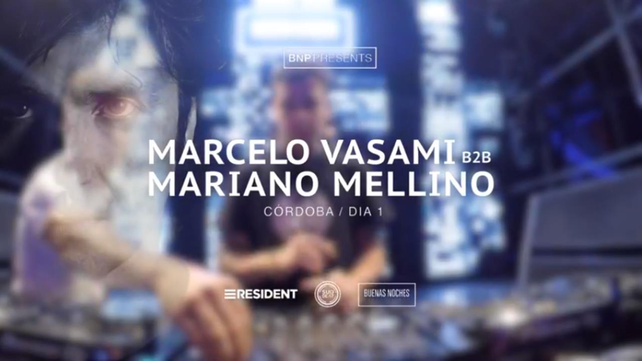 Marcelo Vasami B2B Mariano Mellino - Live @ Forja Cordoba 2017